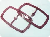 Прокладки клапанной крышки Днепр (красные) к-т